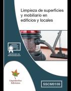 Certificado de Profesionalidad (SSCM0108) Limpieza de superficios y mobiliario en edificios y locales